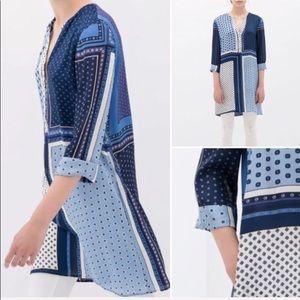 🌵 ZARA tunic top